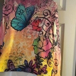 Beautiful, colorful cardigan